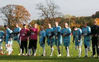 Turniej Ampfutbol 24.10.2015r. - fotorelacja