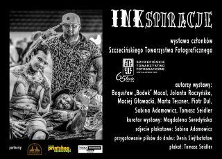 """Wernisaż wystawy Szczecińskiego Towarzystwa Fotograficznego pod tytułem """"INKspiracje"""""""