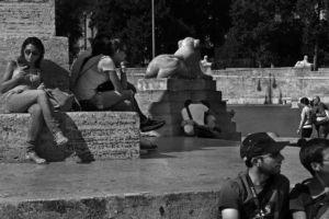 """fot. Timm Stütz - Homo - """"Roma à la HCB"""""""