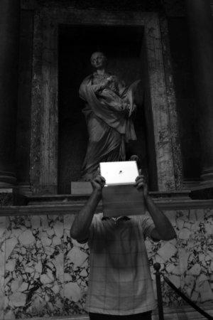 """fot. Timm Stütz - Pantheon - """"Roma à la HCB"""""""