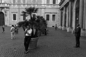 """fot. Timm Stütz - Piazza Santa Maria - """"Roma à la HCB"""""""