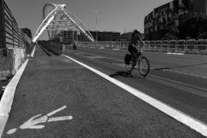 """fot. Timm Stütz - Radfahrer - """"Roma à la HCB"""""""