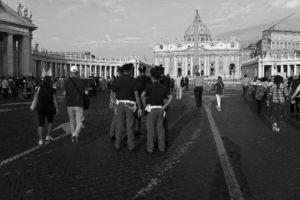 """fot. Timm Stütz - Zum Vatican - """"Roma à la HCB"""""""