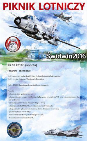 25.06.2016 - Piknik Lotniczy Świdwin 2016