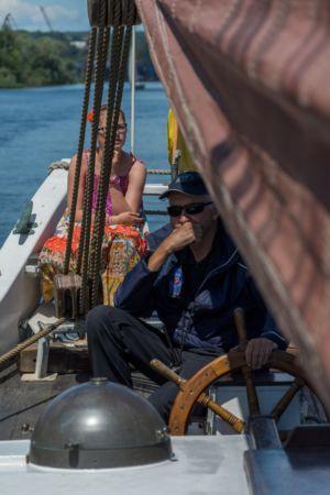 fot. Adam Mikiciuk - Dni Morza (plener na oldtimerze Ernestine)