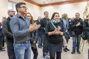Wernisaż wystawy Denisa Siejtbatałowa - fot. Joanna Michniewicz
