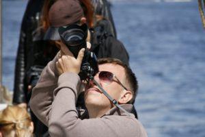 fot. Adrian Aleksiewicz - Dni Morza (plener na oldtimerze Ernestine)