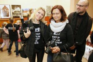 Wernisaż wystawy Denisa Siejtbatałowa - fot. Adrian Aleksiewicz